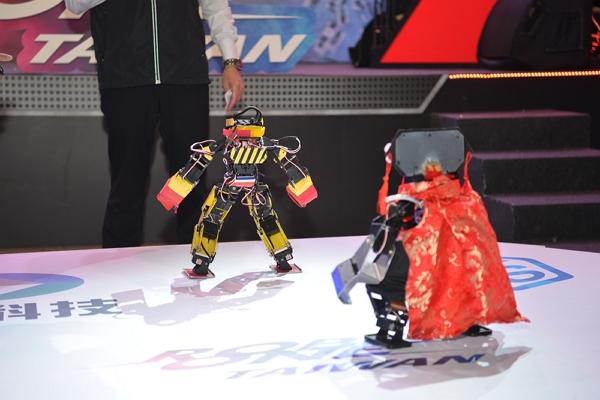 ROBO-ONE TAIWAN 機器人競技表演賽TGS火熱登場